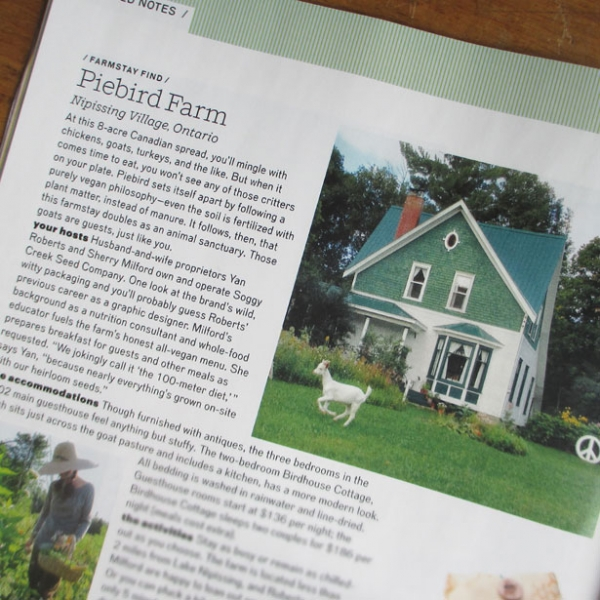 Piebird in Modern Farmer Magazine